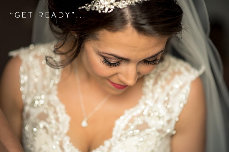 wedding, bride, make-up,