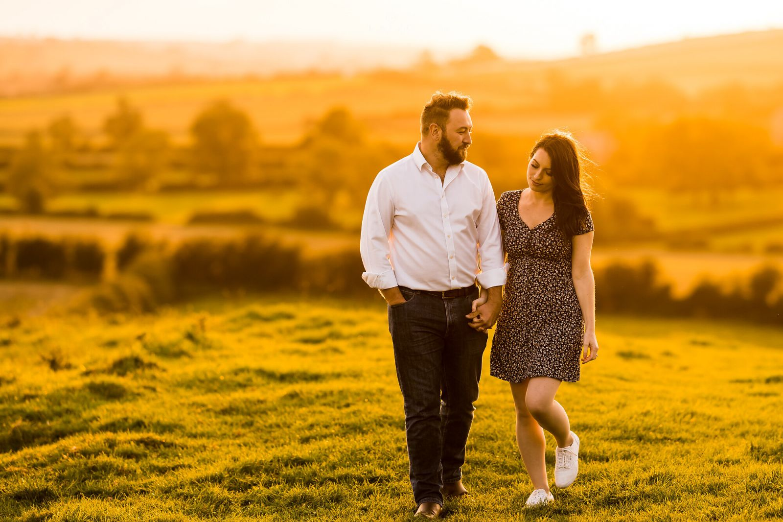 Hothorpe Hall and Woodlands pre-wedding photography